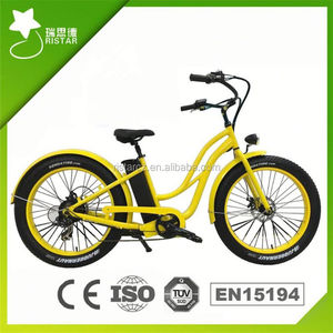 New Style Cruiser 48V 500W used electric bicycle for american market