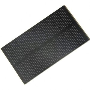 1W 5V 107*61mm Small Solar Panel PET Mini Solar Panels Monocrystalline Silicon Solar Cells Educational Kits Green Power