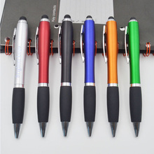 Promotional OEM Custom Logo Printed Plastic Ballpen Retractable stick pen colorful promotion ball point pen