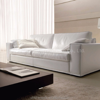 European Style Modern White Sectional Sofa Leather Sectional Sofa ...