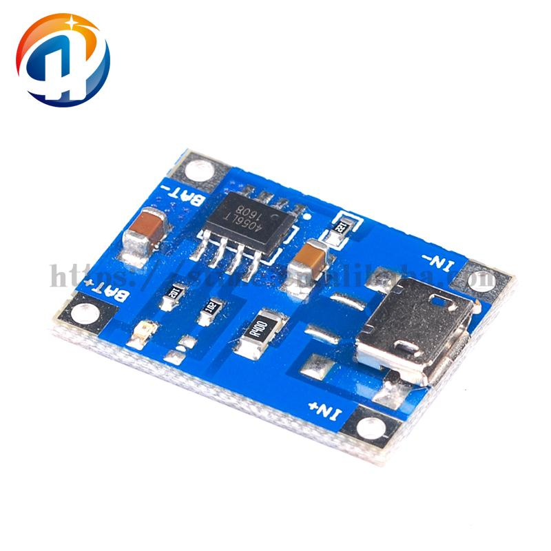 Micro Port New Standard TP4056 1A Lithium Battery Charging Board Battery Charger Module