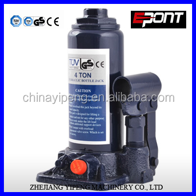 4T Hydraulic Car Bottle Jacks TUV/GS CE Approved