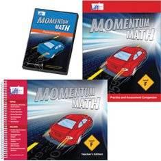 Momentum Math Level F - Teacher Kit (Grade 6)