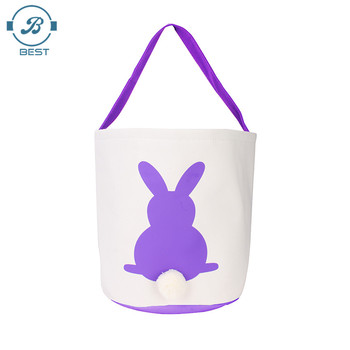 Wholesale cheap easter gifts personalized cute bunny easter basket