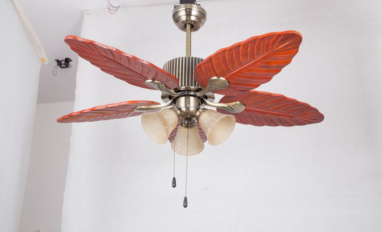 Direct Factory Price Crazy Selling wooden blades ceiling fans