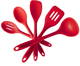 Hot Selling Set of 5-Piece Heat-Resistant Silicone Cooking Utensils Set