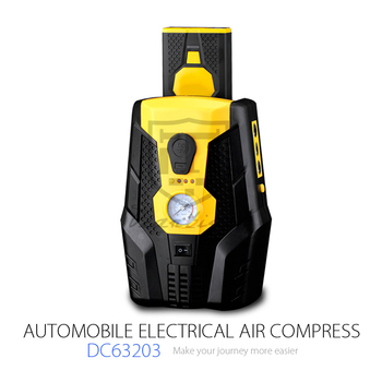 Portable Mini 12v Car Air Compressor Gas Station Air Pump Tyre