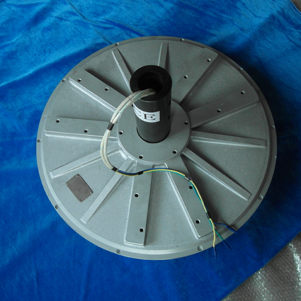 PMG770-7.5kw 150R vertical axis wind generator disc Coreless outer Rotor 3-Phase Permanent Magnet Generator for sale