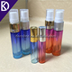 Essential oil red blue 5ml 10ml mini glass spray bottle for perfume