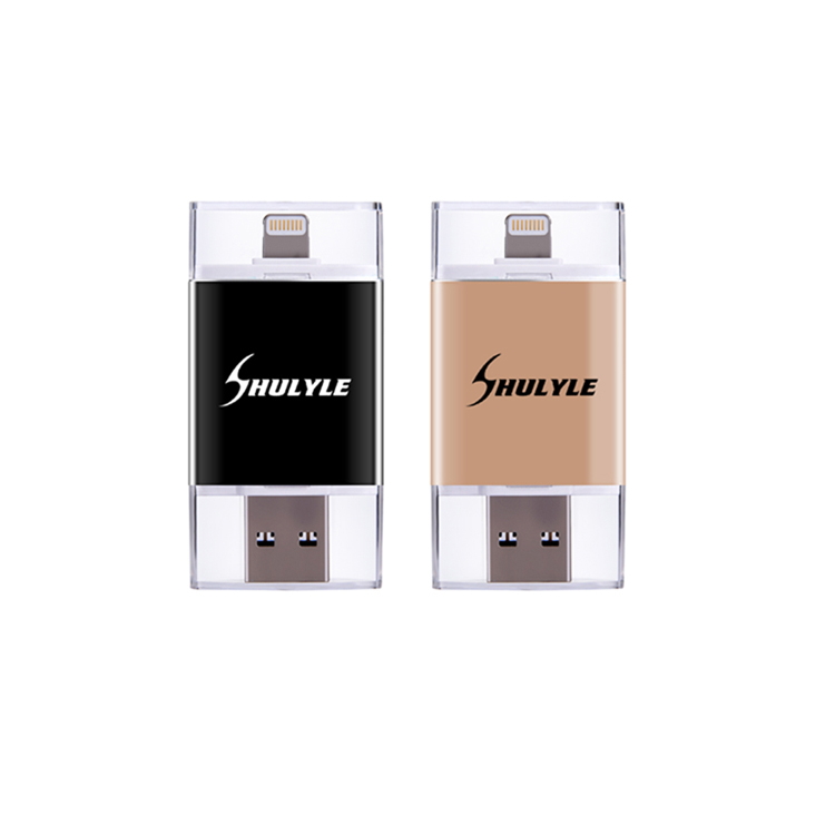 Custom OTG USB Flash Drive U Disk For Apple IOS 9 For Iphone Mobile OTG USB Drives