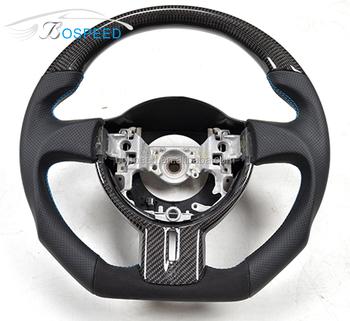 For Toyota Gt86 Subaru Brz Carbon Fiber Steering Wheel ...