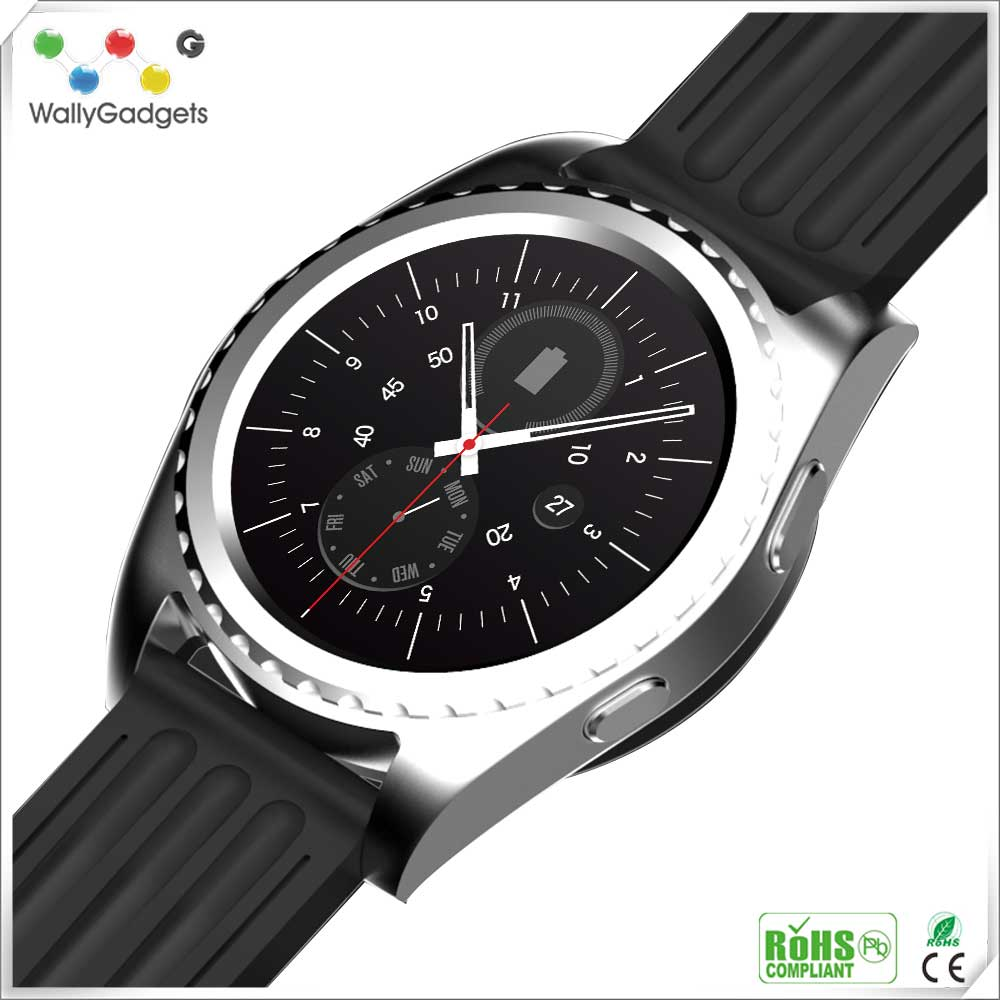 Sport Waterproof Resistant Bluetooth Smart nucleus smart watch with phone blu