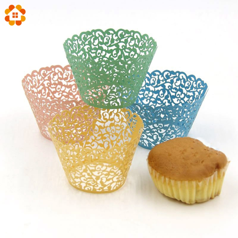 Online Buy Wholesale laser cut cupcake wrappers from China ...