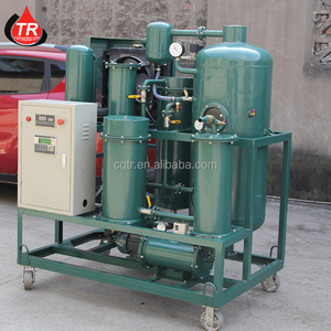 Golden supplier recycling of used lubricating oil refining equipment