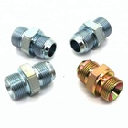 NPT Male to BSP male Straight Hydraulic adapter Nipples Joint
