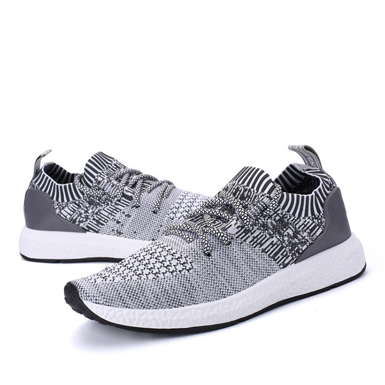 men sport shoes running on knit slip Factory 2018 Popular shoes Price qT008