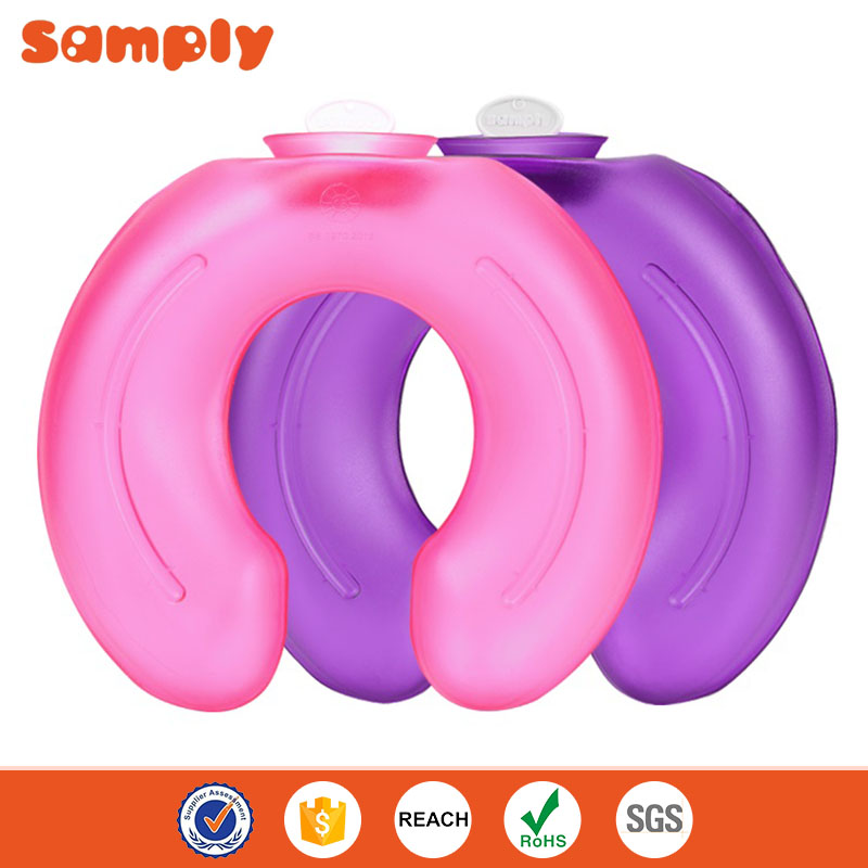 2L quality natural rubber hot water bottle