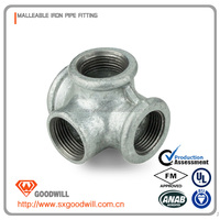 low price malleable galvanized pipe fitting