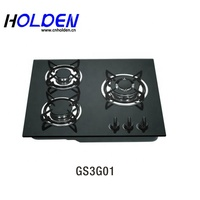 2019 New Design Kitchen Appliances 3 Burner Gas Gas Burner Gas Stove