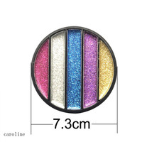 private label cosmetics best selling products 15 colors glitter eyeshadow