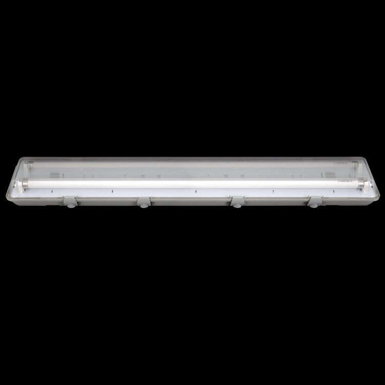 <strong>Industrial</strong>&commercial light 2ft led twin tube light standard ABS+PC tri-proof lighting fixtures