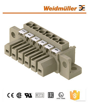 Pcb Plug In Connector Weidmuller Pluggable Terminal Block Stv S 10 Sb,100%  Original - Buy Pcb Terminal Block,Pluggable Terminal Block,Weidmuller