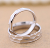 hot couple 925 silver ring set, wedding ring made in china(SWTJU431)