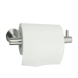 Stainless steel bathroom fitting toilet hand wipe sensor automatic wet towel wall mounted paper roll paper dispenser