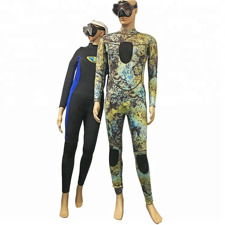 OEM High Quality Custom 3mm Long Sleeve Neoprene Diving Wetsuit