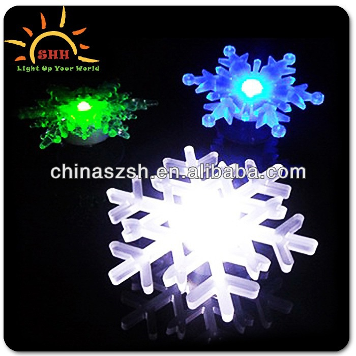 Beautiful Shape Flashing LED Snowflake Light Best Cheap Bulk LED Lights Stage Toys for 2014 Christmas 2013 New Hot Items Gifts