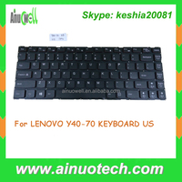 Brand New Laptop keyboard for Lenovo Y40-70 Y40-80 Y40-70AT Y40 70 80 70AT keyboard US layout