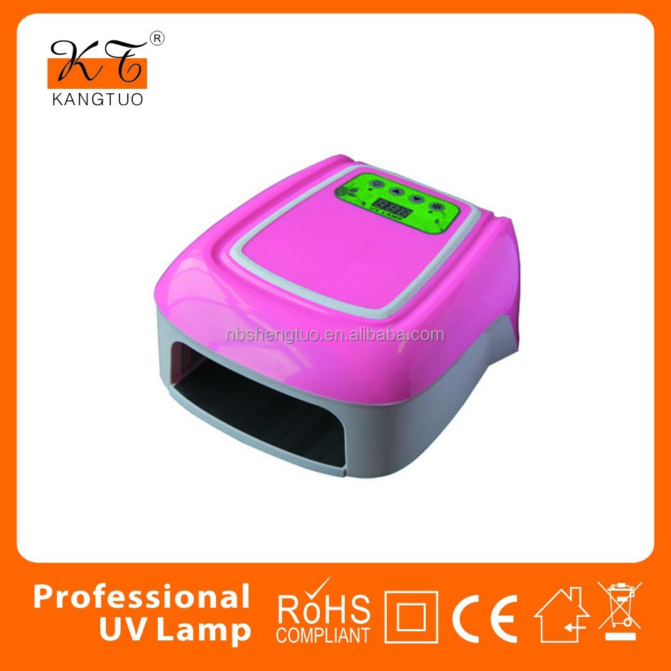 36w uv gel nail lamp china KT-858
