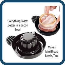 Easy To Use Bacon Baking Plastic Bakeware, Professional Bakeware