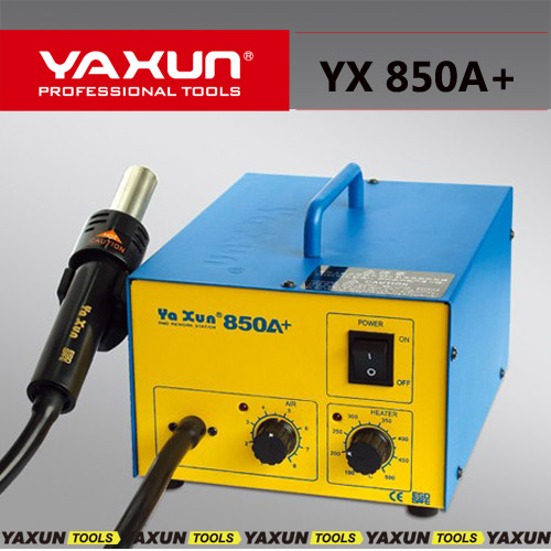 YAXUN YX850A+ Hot air gun BGA SMD rework station Advanced Air Pump Hot Air Gun Rework Station Heat gun station