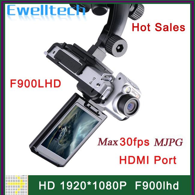 Настоящее HD 1920 * 1080 P F900LHD фотоаппарат авто черный ящик 12MP кадров в секунду автомобильный видеорегистратор с 4-кратным зумом 2.5
