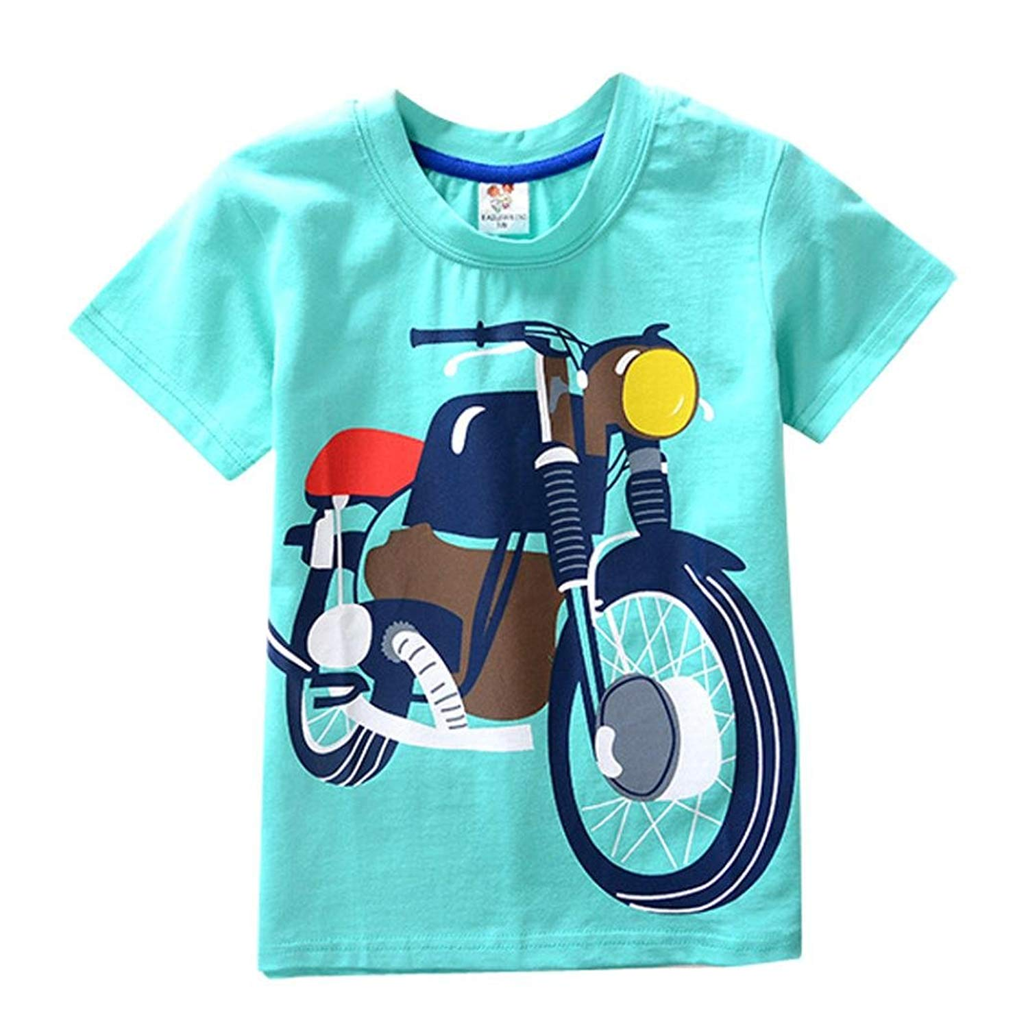235b270cd0dca Get Quotations · Pollyhb Toddler Kids Baby Boys Girls Clothes Short Sleeve  Tops T-Shirt Blous