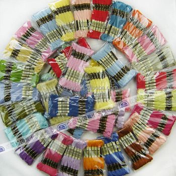 Craft Factory Embroidery /& Cross Stitch Threads Floss Skeins Assorted Co...