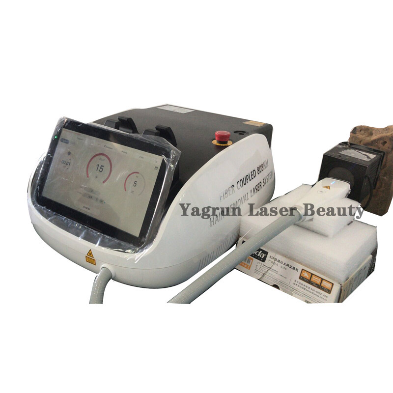 Yagrun Beauty Salon Fiber Coupled Diode Laser Hair Removal Equipment