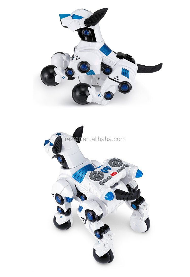 Rastar wholesale intelligent children dog robot toy