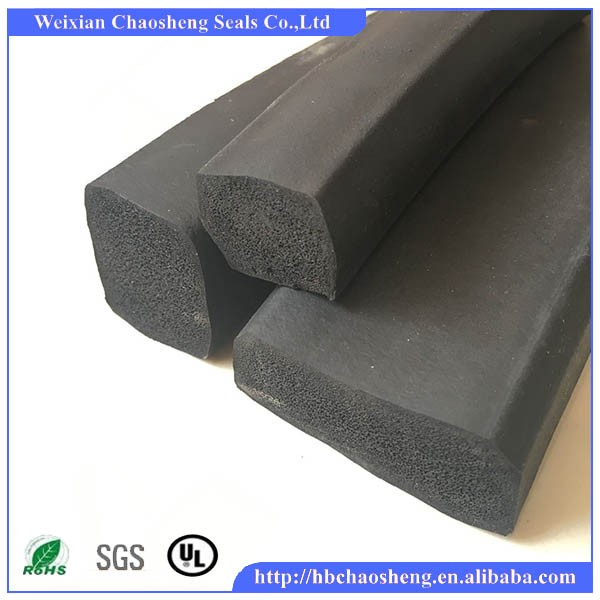Sponge Rubber seal special foam rubber