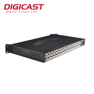 16 Channel Professional Satellite Receiver Digital TV Receiver Decoder IRD  DVB-S/S2/C/ISDB-T to IP Gateway
