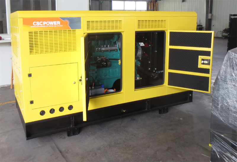 Low Fuel Consumption 3 Phase Silent 100KVA Diesel Generator Set 6BT5.9-G2 Engine Price
