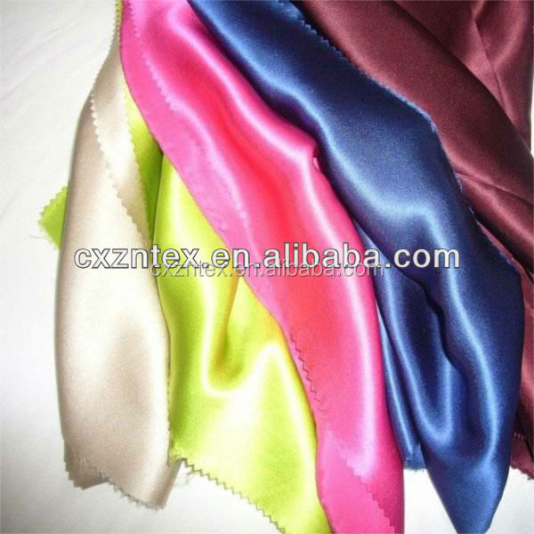 100% polyester satin silk feel scarf