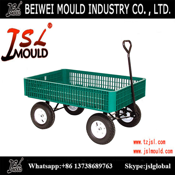 commercial goods crate wagon plastic mould