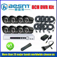 new products 8CH CCTV Camera DVR Kit Outdoor with Hardware&Software OEM (BS-T08M2)