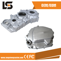 cheap aluminum die casting Chinese product customized crypton parts motorcycle in china market