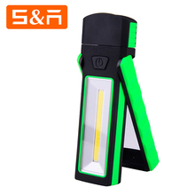 Best 3W COB LED Multifunctional Magnetic Flexible led Worklight With Revolve Stand