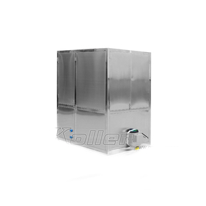 1ton cube ice machine with ice cube storage bin