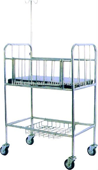 Stainless Steel Baby Adjustable Hospital Beds X02