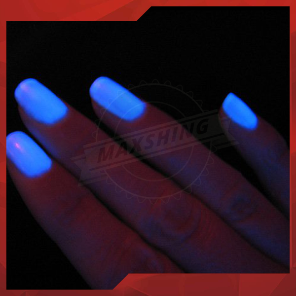 Luminescent Powder, Neon Glow in the Dark For Nail Polish